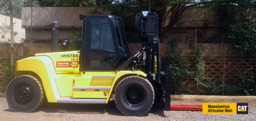 First Hyster 16T trolley rented in Mali